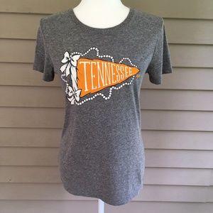 Lauren James Preppy Pennant Tennessee Vols T-Shirt